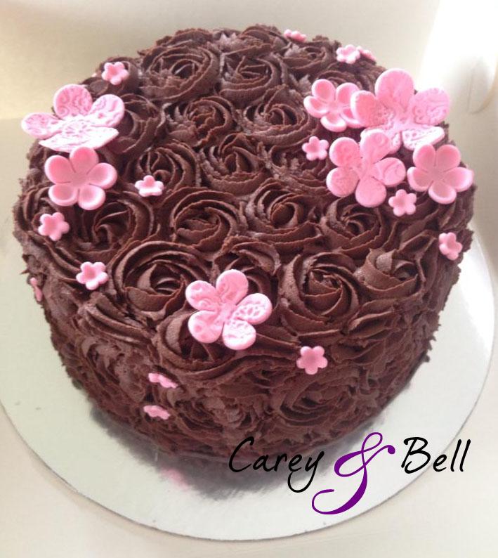 Rose Swirl Cake Design : 301 Moved Permanently